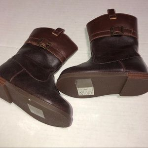 Gymboree toddler girls brown boots size 5 like new